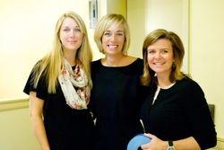 Kellie Nelson, Kristie Barkman, and Wendy King