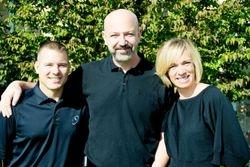 Ron, Dr. Daniel Licht, and Kristie