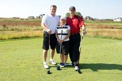 John Devine, Pat and Ron Barkman