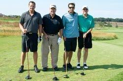 Drew Peden, Wayne Peden, John Siedzkowski, and Gary Dougherty