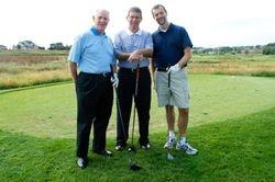 Bill Atlee, Jim Meyer, and Chris Meyer