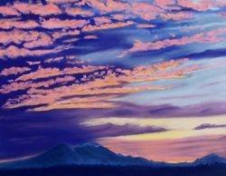Sunrise Over Mt. Baker
