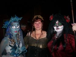 Fun at the Vampire Masquerade Ball