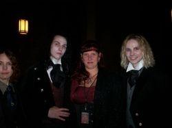 Armand, Louis, Melanie & Lestat