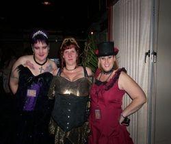 Blue Remy, Melanie Nowak, & Marianne Morea