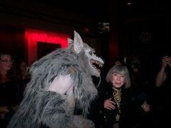 A Werewolf scaring Anne Rice