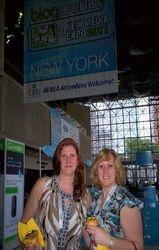 Melanie & Marianne at BEA