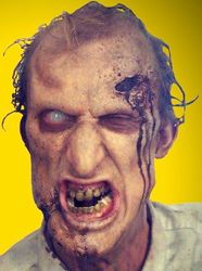 Zombie in a Die Hard Battery commercial