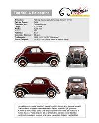Fiat 500 A Topolino (Italia)