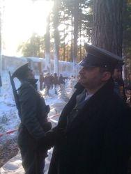 Mihai Arsene as Serbian Police Officer