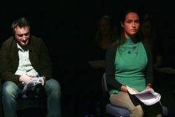 Orpheus (MIhai Arsene) & Euripide ( Cristina Catalina )
