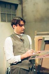 Laurent (Mihai Arsene) - the painter