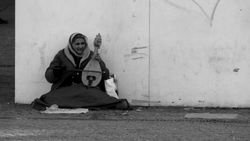 Old Woman and Instrument