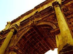 The Arch of Severus, Roman Forum