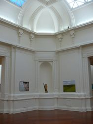 Turning Point in the dome at Sarjeant Gallery