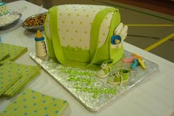 Pistachio Green Diaper Bag