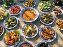 Fes Traditional Salads