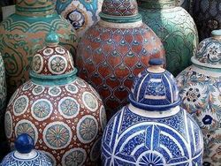 Fes Traditional Pottery