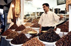 Man Selling Dates in Fes