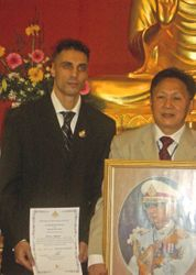 Arjarn - Master Title Award Presentation DEC '05