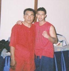 Grand Master Phosowat and Kru Sav