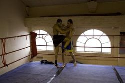 Depesh n Bartosz Muay Plahm fight preparation 2