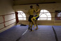 Kru Depesh Bartosz Muay Plahm fight preparation 3