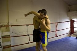 Depesh n Bartosz Muay Plahm fight preparation 6