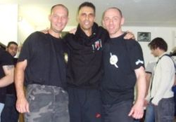 Gary Gregory Hanuman myself and Gary Wright LMTA