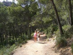 Walking Trails in the Sierra Espuna Park