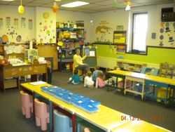 preschool 3/4 year old room