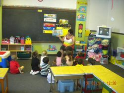 preschool 4/5 year old room (pre-kind.)