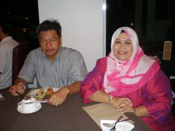 Mr. & Mrs. Zawawi Embong