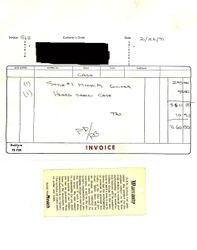Early invoice