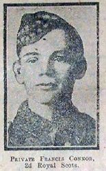 Pte Francis Connor