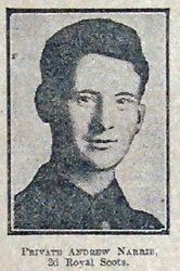 Pte Andrew Narrie
