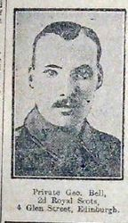 Pte George Bell