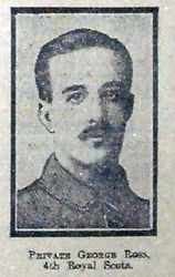 Pte George Ross