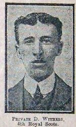 Pte D Withers