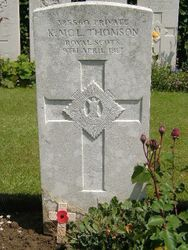 Pte Kenneth McLay Thomson
