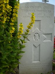 Pte  Tommy Douglas 8th RS