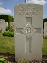 Pte Robert  Aithie  8th RS