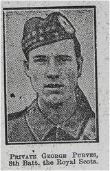 Pte George Purves 8th RS