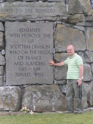 Paying my respects Scotsman to Scotsmen