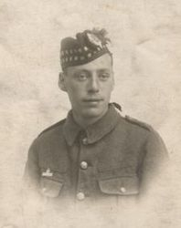 RS man with Imperial Service badge