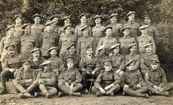 Working party of Royal Scots