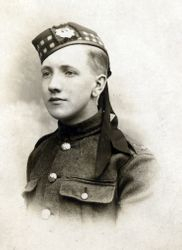 Unknown soldier Royal Scots