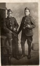 18680 Pte Harry A Martin, 18679 Pte John Kidd Killed in France 1917 15th Royal Scots