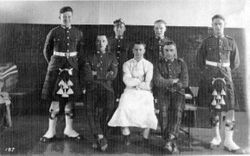 Walters Son joins the Argylls @ 1934