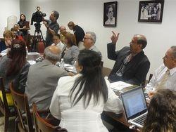 Reuniones en la Legislatura